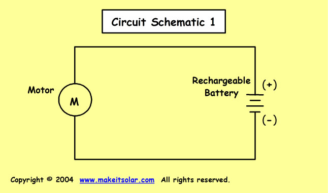 science fair project idea calculation exercise for a solar battery rh makeitsolar com Parts of a D Battery Diagram Diagram of Current Flowing From a Battery